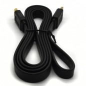 1.5M  FLAT HDTV Cable-Digital Video/Audio Cable