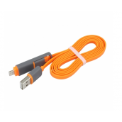 2-in-1 USB Charging Lightning Cable