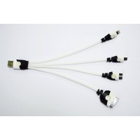 Flat Style 4in1 USB Cable