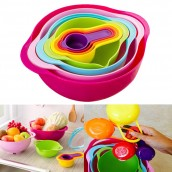 8 Pcs Food Preparation Nesting Set
