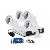 CCTV 4ch NVR Security Camera