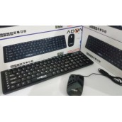 Classic Ultra thin ADVAN Multimedia Keyboard & Mouse Combo