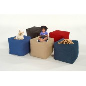 Cube Shaped Beanbags