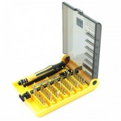 Jackly Portable 45 pcs Mobile Toolkit for Use with Computers, Mobile phones & many more portable devices