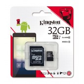 Kingston 32GB Class-10 MICRO SD with Adapter