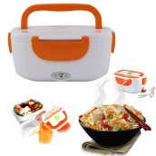 Portable Car Plug Electric Heated Food Warmer Lunch Box