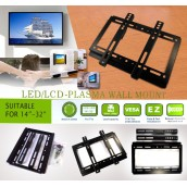 "LED/LCD- Plasma Wall Mount for 14""-42"" flat panel TV"