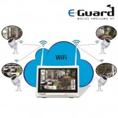 4Ch Video Record Surveillance Kit