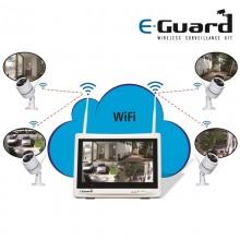 4Ch Video Record Surveillance Kit